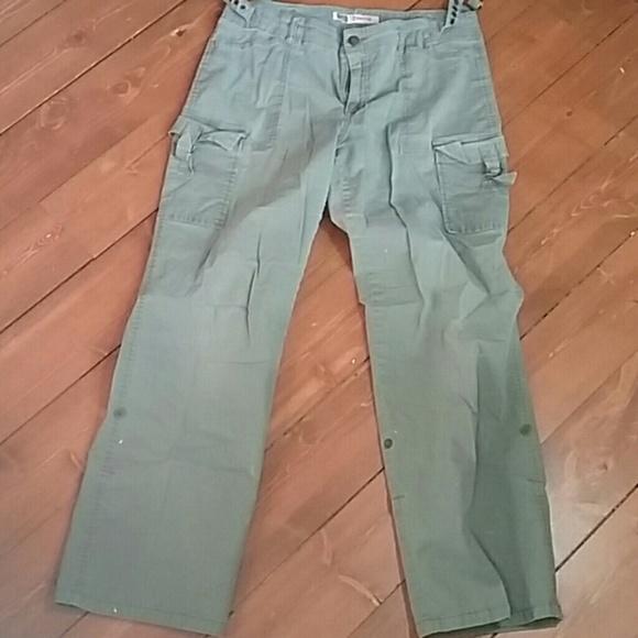 d72de40eddf Faded Glory Pants - Faded Glory stretch women s SZ 12 cargo pants